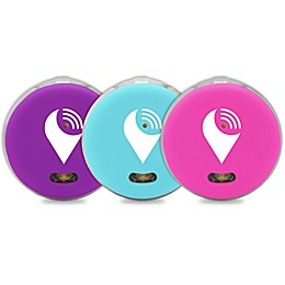 TrackR Pixel 3-Pack in Aqua/Purple/Pink