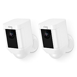 Ring Wireless Spotlight Cam in White (Set of 2)
