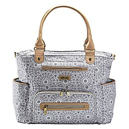 JJ Cole® Moroccan Caprice Diaper Bag in Grey