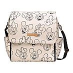 Petunia Pickle Bottom® Boxy Backpack Diaper Bag in Sketchbook Mickey & Minnie