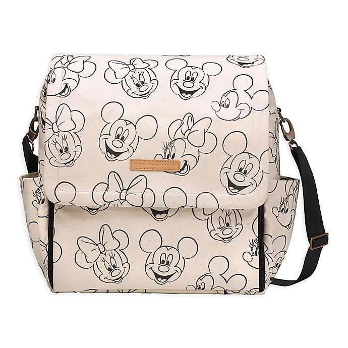 c5a9cf0fb6 Petunia Pickle Bottom® Boxy Backpack Diaper Bag in Sketchbook Mickey    Minnie