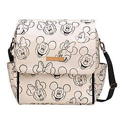 Petunia Pickle Bottom® Boxy Backpack Diaper Bag in Sketchbook Mickey & Minnie
