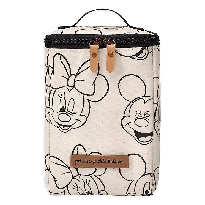 Alternate image 1 for petunia pickle bottom® Cool Pixel Plus in Sketchbook Mickey and Minnie