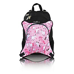 Obersee Rio Diaper Bag Backpack with Detachable Cooler in Unicorns