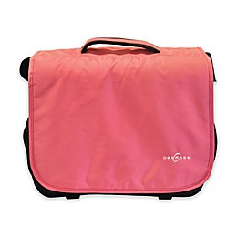 Obersee Madrid Convertible Diaper Bag in Pink