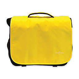 Obersee Madrid Convertible Diaper Messenger Bag with Viola Changing Kit in Yellow