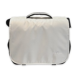 Obersee Madrid Convertible Diaper Bag in White