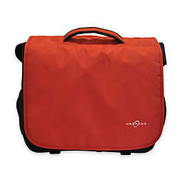 Obersee Madrid Convertible Diaper Bag in Red