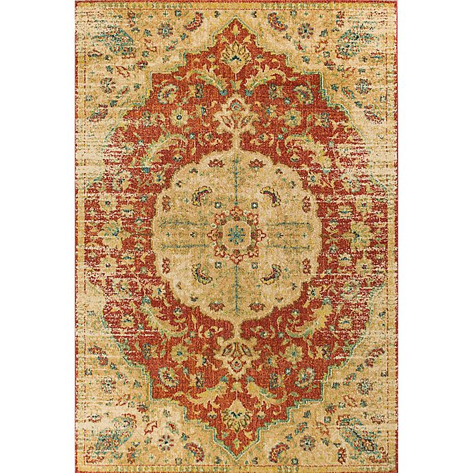 Alternate image 1 for KAS Casablanca Condesa 3-Foot 3-Inch x 4-Foot 11-Inch Accent Rug in Spice/Sand