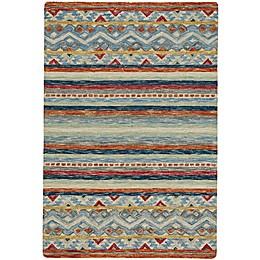 Capel Rugs Shakta Kelim Hand Tufted Multicolor Area Rug