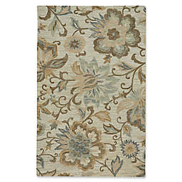 Capel Rugs Lincoln Blooming Hand Tufted Multicolor Area Rug