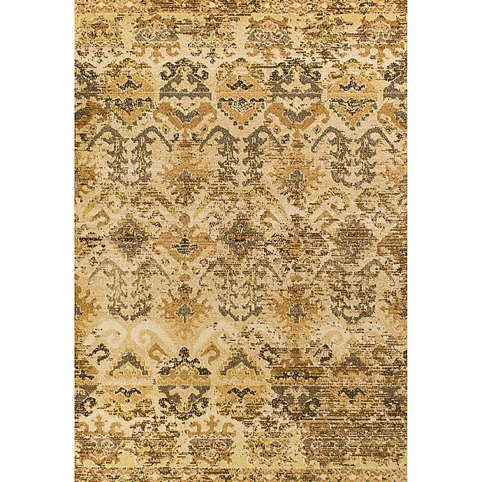 Alternate image 1 for KAS Casablanca Medina 3-Foot 3-Inch x 4-Foot 11-Inch Accent Rug in Sand