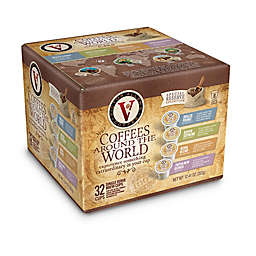 32-Count Victor Allen® Around the World Coffee Pods for Single Serve Coffee Makers