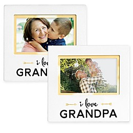 Pearhead® Grandparent Sentiment 4-Inch x 6-Inch Photo Frame