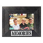 Lawrence Frames 4-Inch x 6-Inch  Memories  Distressed Wood Picture Frame