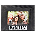 Lawrence Frames 4-Inch x 6-Inch  Family  Distressed Wood Picture Frame