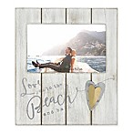 Coastal  To The Beach and Back  4-Inch x 6-Inch Wood Picture Frame Collection