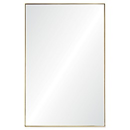 Ren-Wil Florence 21-Inch x 32-Inch Gold Leaf Framed Wall Mirror Collection