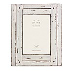 Prinz Homestead 5-Inch x 7-Inch Wood Frame in White
