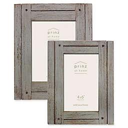 Prinz Homestead Wood Frame in Dark Grey