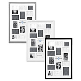 Gallery 15-Opening 20-Inch x 30-Inch Wood Collage Frame