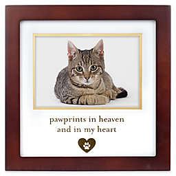 Pearhead® Pet Memorial 3.5-Inch x 5-Inch Picture Frame in Espresso
