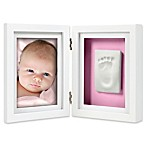 Pearhead® Babyprints 4-Inch x 6-Inch Desk Photo Frame in White