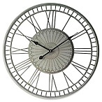 Infinity Instruments Country Lace 27.5-Inch Wall Clock