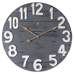 Infinity Instruments Tree House 24-InchWall Clock in Gray
