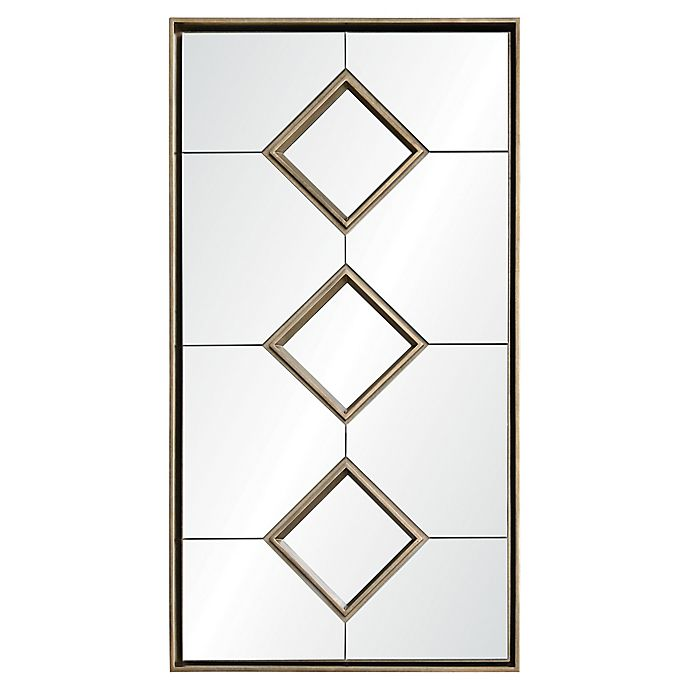 Alternate image 1 for Ren-Wil Paxton Antique Silver Framed Wall Mirror
