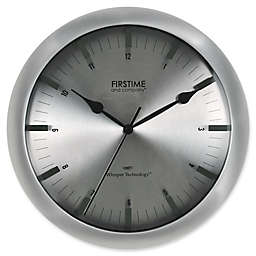FirsTime® Stanton Wall Clock in Steel