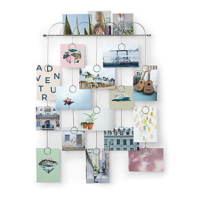 Umbra® Trickle Photo Collage Display in Chrome