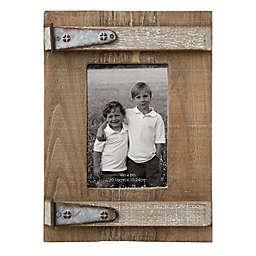 Wood Metal 3 Inch X 5 Photo Frame