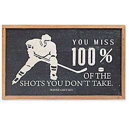 Splash Wayne Gretzy Hockey Quote Wall Art
