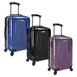 U.S. Traveler 22-Inch EZ-Charge Carry On Spinner Suitcase