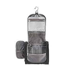 Latitude 40°N® Hanging Travel Organizer in Black