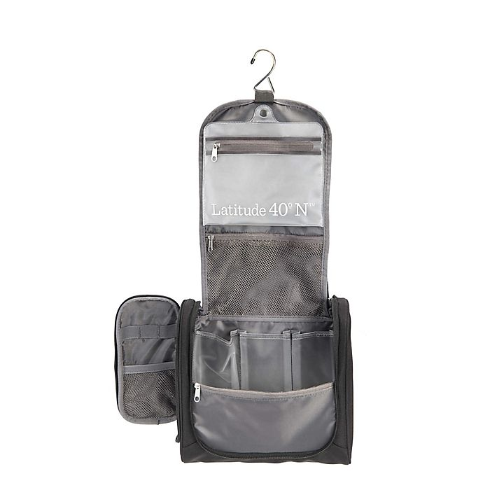 Alternate image 1 for Latitude 40<strong>°</strong>N®<strong> </strong>Hanging Travel Organizer in Black