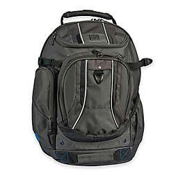 ful® Load Factor 19-Inch Laptop Backpack in Black/Grey