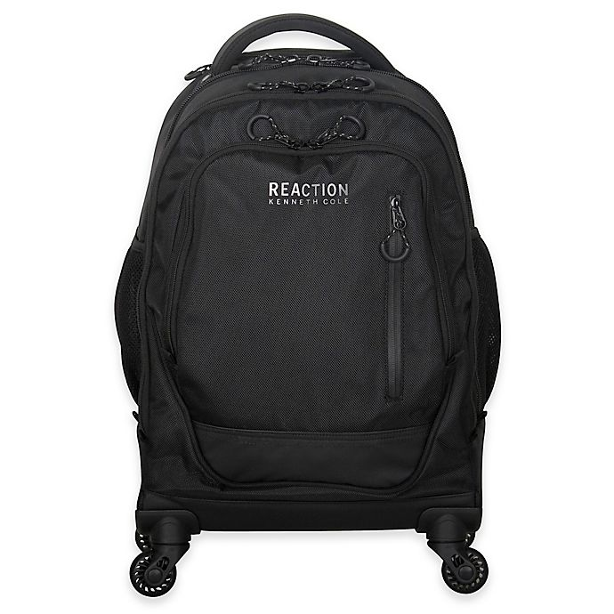 Alternate image 1 for Kenneth Cole Reaction R-Tech 22-Inch Spinner Laptop Backpack in Black