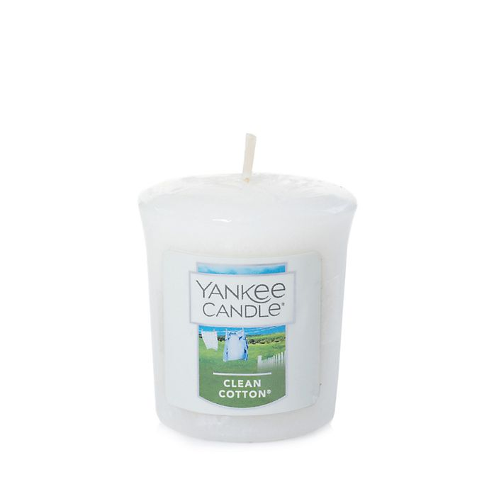 Alternate image 1 for Yankee Candle® Clean Cotton® Samplers® Votive Candle
