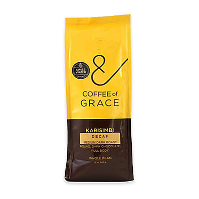 Coffee of Grace 12 oz. Medium Dark Roast Decaf Whole Bean Coffee