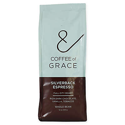 Coffee of Grace 12 oz. Silverback Espresso Whole Bean Coffee