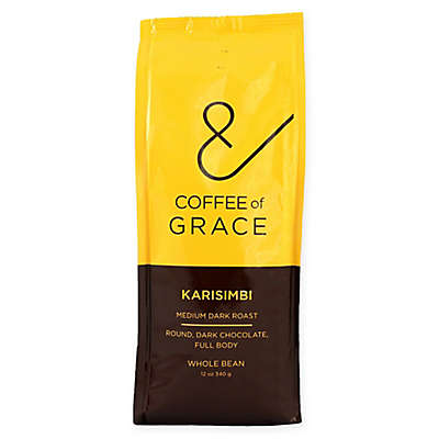 Coffee of Grace 12 oz. Karisimbi Medium Dark Whole Bean Coffee