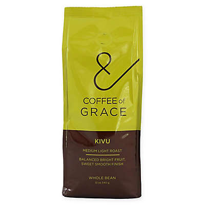 Coffee of Grace 12 oz. Kivu Medium Light Whole Bean Coffee