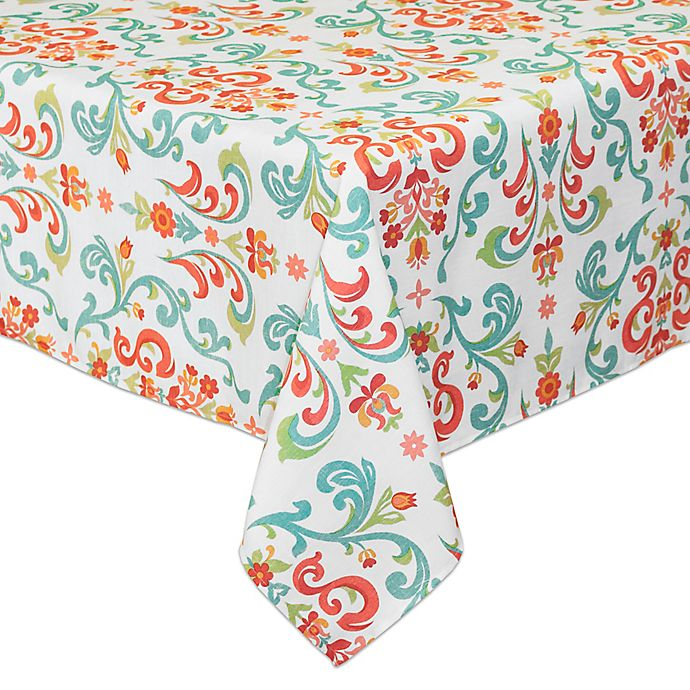 Alternate image 1 for Destination Summer Odesa Indoor/Outdoor Tablecloth