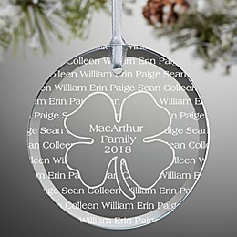 Irish Family Ornament