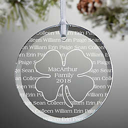 Irish Family Ornament