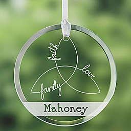 Irish Family Triple Knot Ornament