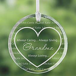 Grandma's Sweethearts Ornament
