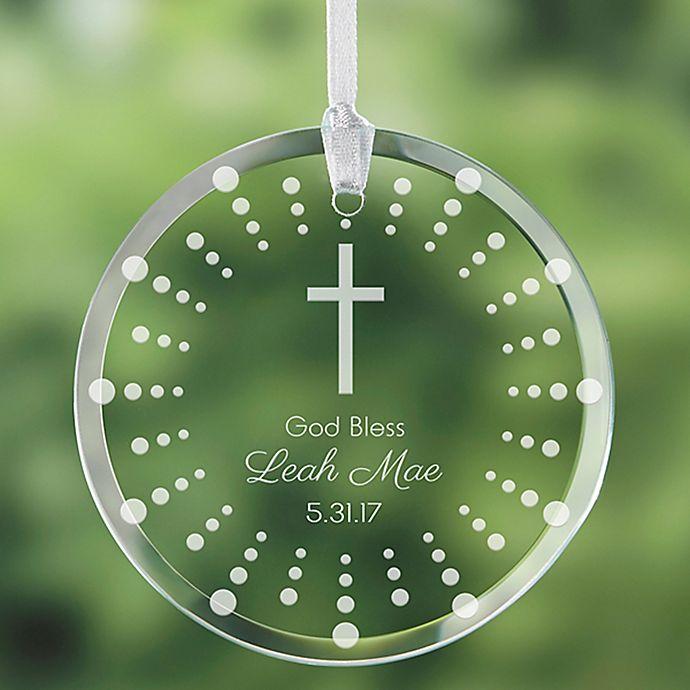 Alternate image 1 for God Bless Ornament